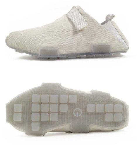 Alex Dodge Concept shoes - generates power when you walk.