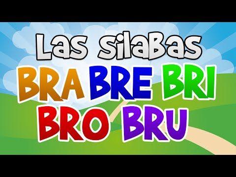 Las silabas BRA BRE BRI BRO BRU en español para niños | Aprender a Leer - YouTube