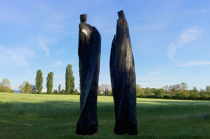 Un groupe de sculptures de Christian Lapie