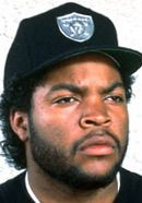 Ice Cube as a member of the N.W.A rap group. He is portrayed by his son O'Shea Jackson Jr. in the Straight Outta Compton movie. See more pics here: http://www.historyvshollywood.com/reelfaces/straight-outta-compton/