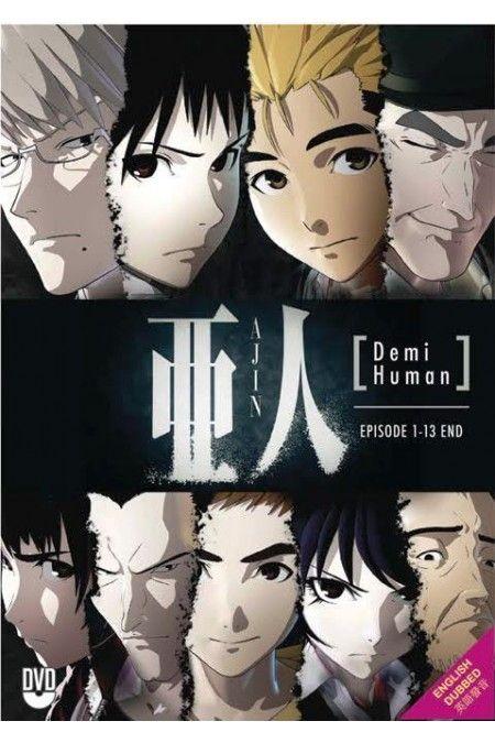 Ajin: Demi-Human Vol.1-13End Anime DVD English Dubbed