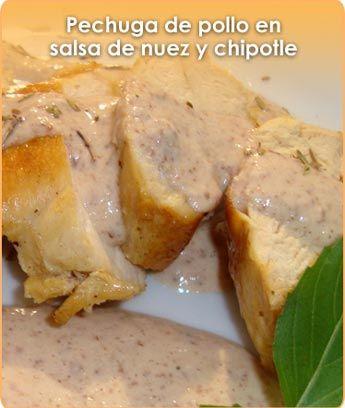 1000 images about recetas de pollo pavo on pinterest - Pechuga d pollo en salsa ...