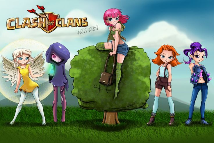 Clash of Clans fan art by RonnySanchez.deviantart.com on @DeviantArt