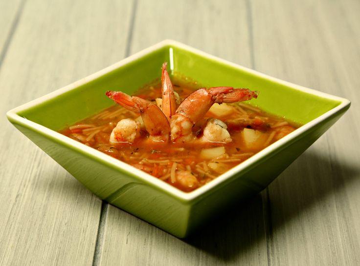 Deliciosa y fácil receta de Sopa de Camarón Seco y Verduras, es una receta rápida de preparar que le encantará a tus invitados.