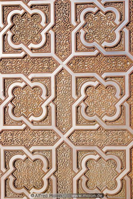 Islamic patterns, if only I could use this as a stamp for a kitchen backsplash when we paint.
