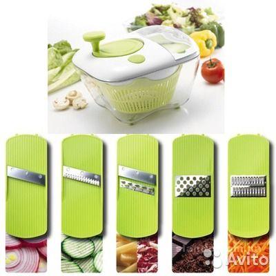 ОписаниеНабор для приготовления салатов - многофункциональное кухонное устройство, которое поможет Вам промыть, просушить, натереть и измельчить продукты, высушить и хранить. Готовьте оригинальные фруктовые и овощные салаты, разнообразные соусы и жаркое...