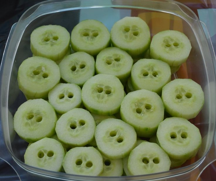 Pig noses - healthy finger food for an Angry Birds party
