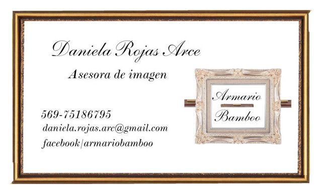 Tarjeta de presentación Asesora de Imagen 3 by daniela-paz-rojas-arce on Polyvore featuring moda