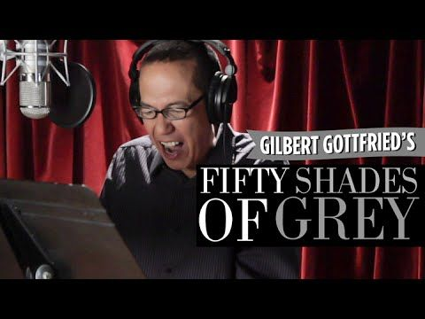 Gilbert Gottfried Reads 50 Shades of Grey.  His vocalization is cringe-laughy enough, but the reaction of the women listening.  Hah!