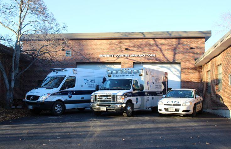 Maine University volunteer ambulance corps Fire rescue