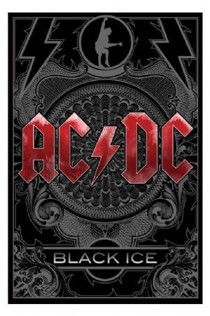 AC/DC - Black Ice Album Cover * Large Poster * Brand New