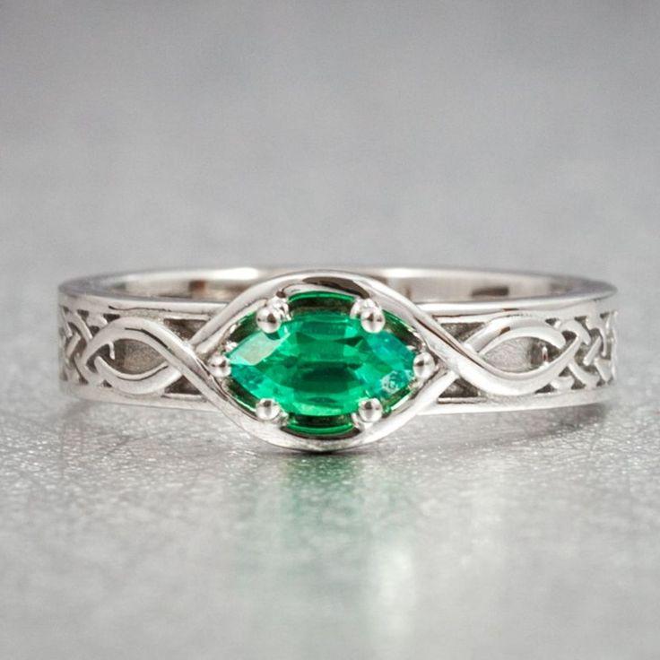 Best 25+ Celtic Engagement Rings Ideas On Pinterest