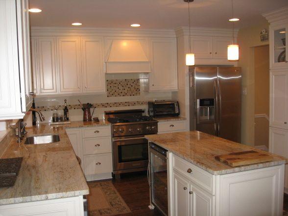 12x12 kitchen design layouts reno of a small kitchen 12x12 1960s townhouse kitchen closed - Closed kitchen design ...