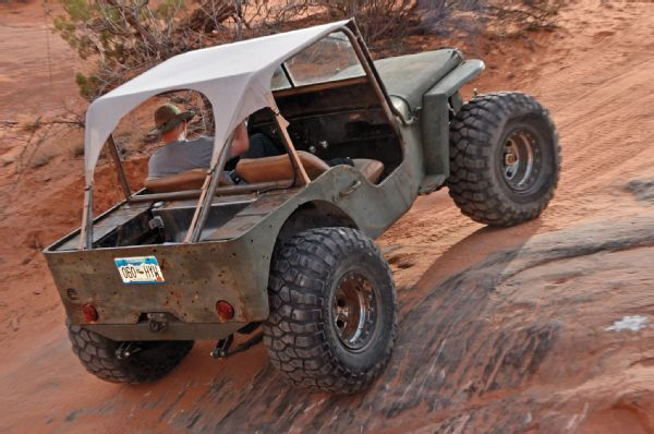 1942 Jeep Willys MB Rear