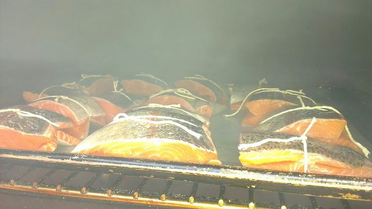 House smoked trout
