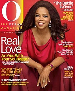 FREE O, The #Oprah Magazine One Year Subscription! http://po.st/XbR9RO