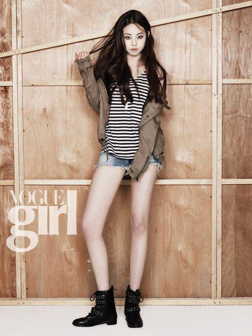 Sohee (Wonder Girls) for Vogue Girl Korea April 2012 issue