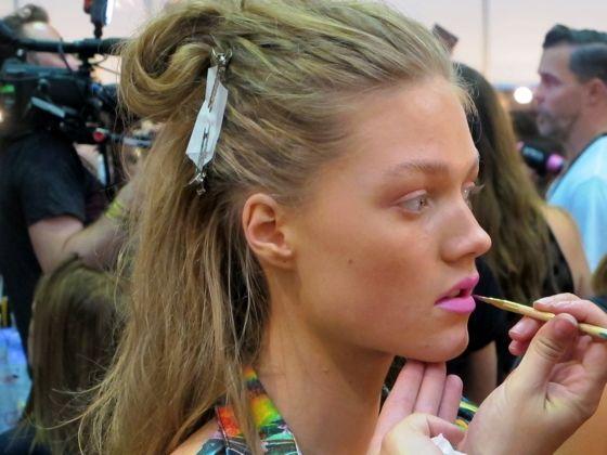 Maybelline NY for Watson X Watson at Mercedes-Benz Fashion Week Australia 2013 | makeup director Nigel Stanislaus
