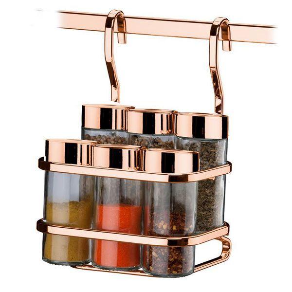 20 Itens De Decoracao Rose Gold Que Voce Acha Na Leroy Merlin Rose Gold Kitchen Kitchen Jars Rose Gold Decor