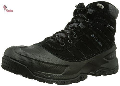 Columbia Minx Mid II Omni-Heat, Chaussures Multisport Outdoor femme, Noir (010), 41 EU (8 UK), Noir (010), 41.5 EU (8.5 Femme UK)