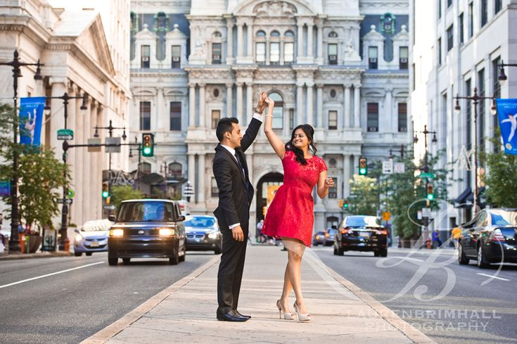 Philadelphia Engagement Session – Sarita & Chirag | Lauren ...                                                                                                                                                     More