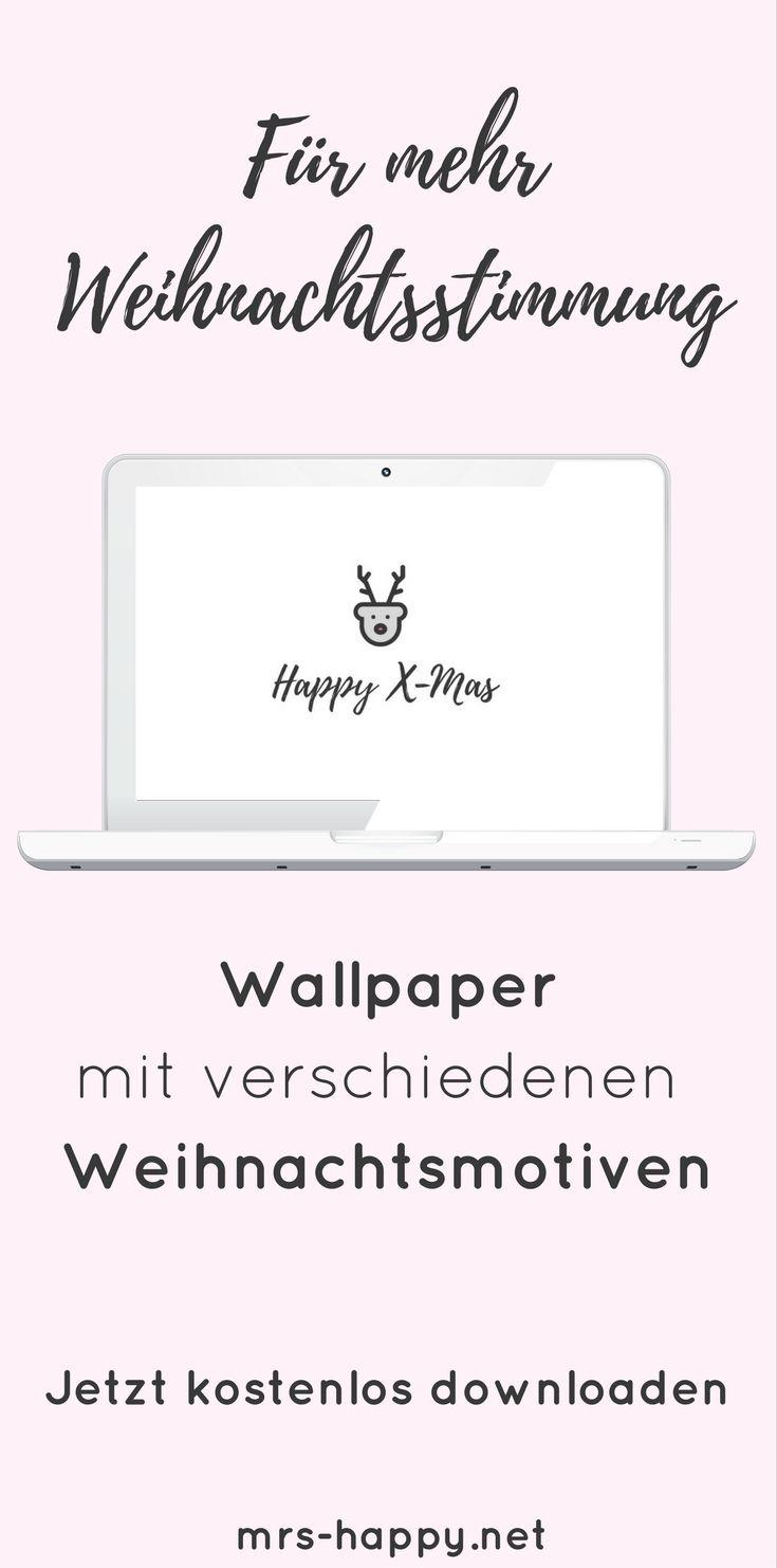 Lass Weihnachtsstimmung bei dir einziehen: Wallpaper für Weihnachten & Advent - kostenlos zum Downloaden für dich. #weihnachten #kostenlos #wallpaper