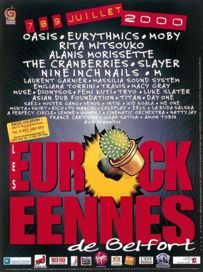 Les Eurockéennes de Belfort, 2000