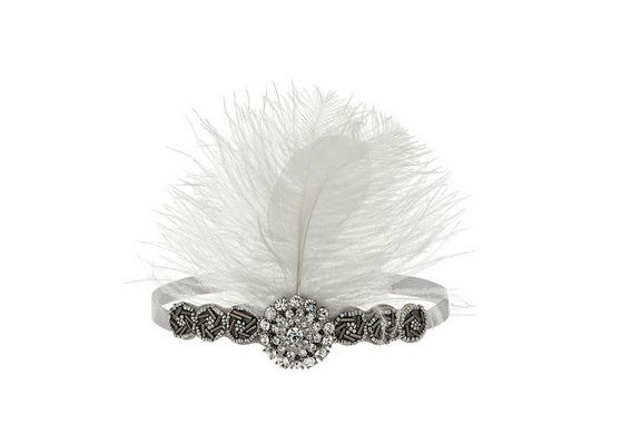 Give a nod to the roaring 20s through your Gatsby hair accessories, the period pieces that can be seamlessly integrated into 2013 style trends.