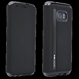 newest 98b6e f0d5d Samsung Galaxy S7 edge Tech21 Evo Wallet Case - Black | Cellphone ...