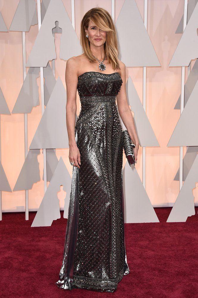 LAURA DERN  en Alberta Ferreti | Oscars 2015
