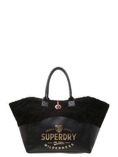 Superdry TAKA Torba na zakupy black