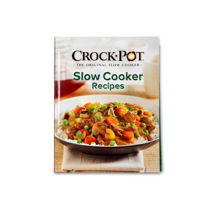 Crock-Pot Slow Cooker Recipe Book, Multicolor