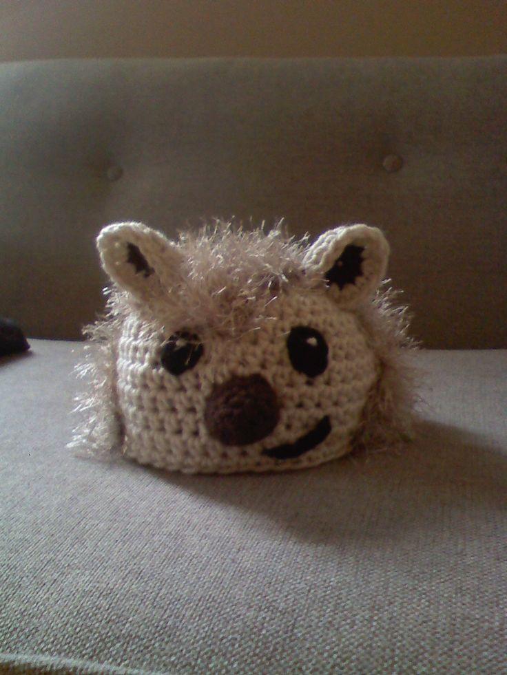 Infant Crochet Hedgehog Hat Crochet Crochet Hedgehog