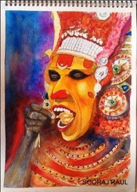 Theyyam Is A Popular Ritual Form Of Worship Of North