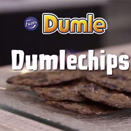 Maailman makeimmat chipsit vain yhdestä raaka-aineesta, Dumlesta! - Fazer