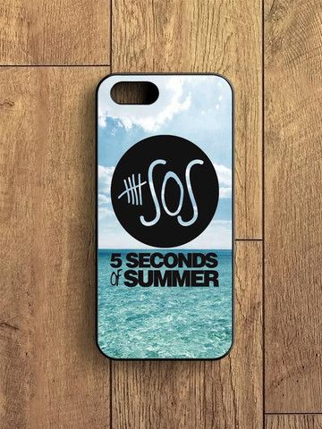5 Second Of Summer Ocean Logo iPhone 5|S Case