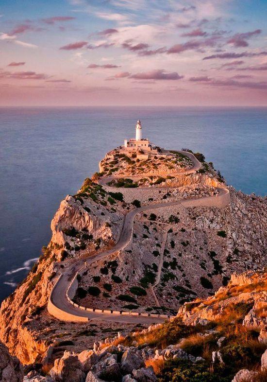 Faro de Formentor, Mallorca, Spain destination in  #GypsetTravel #AssoulinePublishing