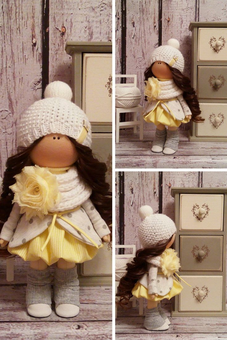 Home doll Tilda doll Art doll handmade by AnnKirillartPlace