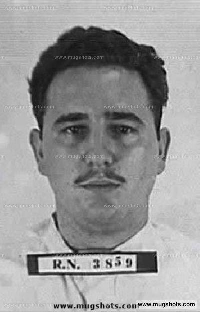 Fidel Castro mugshot