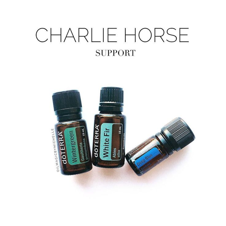 Natural Charlie Horse Cures