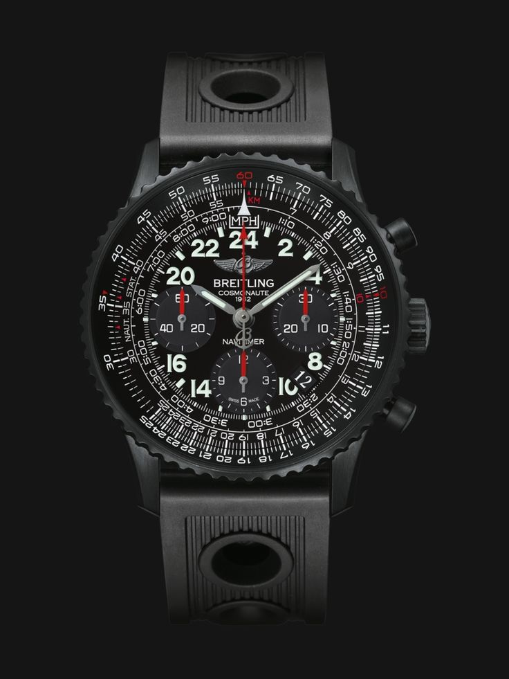 Worn in 1962 by Scott Carpenter during his three orbits around the Earth, this is the first space-going chronograph.
