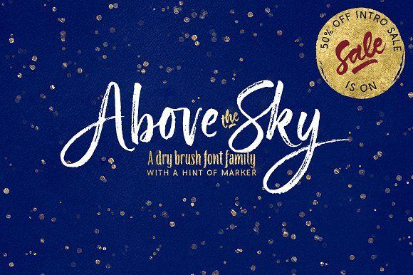 Above the Sky  by MyCreativeLand on @creativemarket