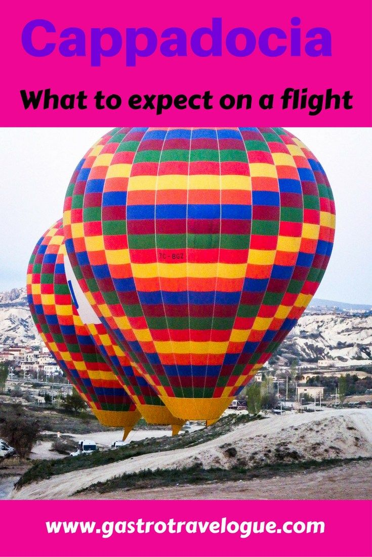 #Turkey #Cappadocia - what to expect on a hot air #balloon flight-www.gastrotravelogue.com
