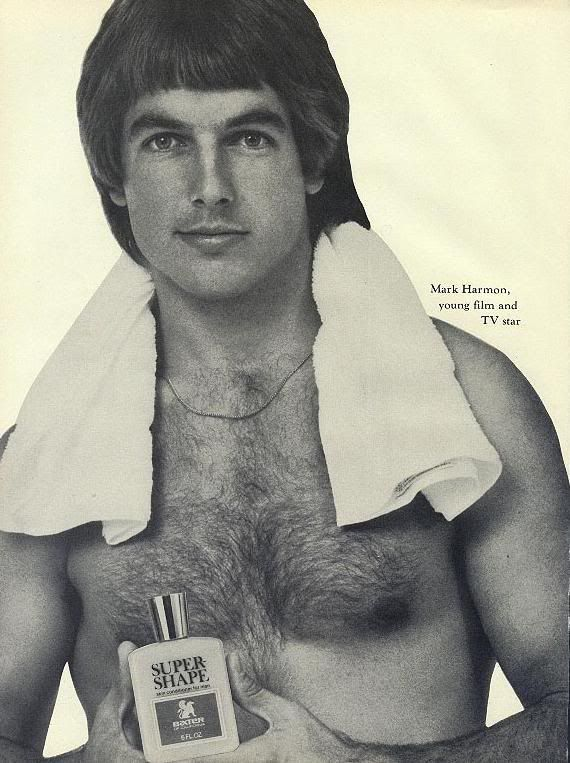 Mark Harmon in ad
