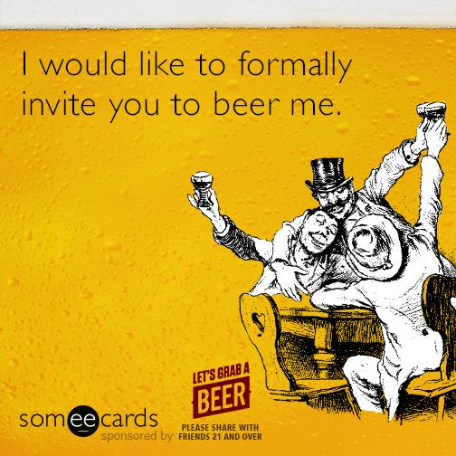 An offer you can't refuse. | National Beer Day | Pinterest ...