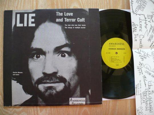 "johnkatsmc5: Charles Manson.""Lie: The Love and Terror Cult"" 197..."