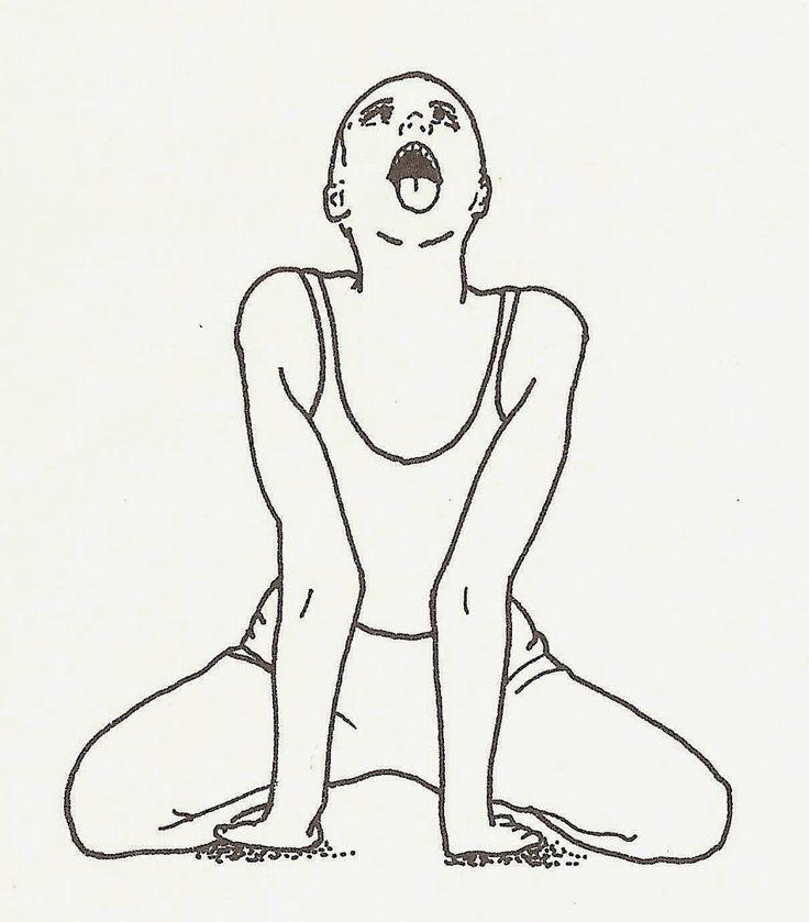 lifeme: POSIZIONE DEL LEONE #Simhasana #asana #yoga #disintossicarsi