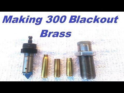 Make 300 blackout brass w/ Lee Quick Trim
