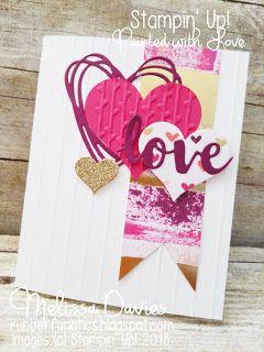 Stampin' Up! Painted with Love by Melissa Davies @rubberfunatics #stampinup #rubberfunatics