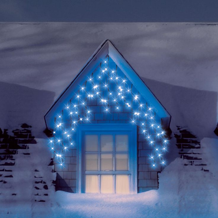 9 best led icicle lights images on pinterest led icicle lights blue outdoor led icicle lights we also stock these in white and warm white aloadofball Images
